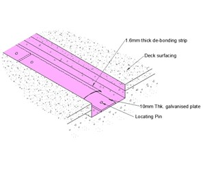 LOD 4 Model representation of Buried expansion joint systems.