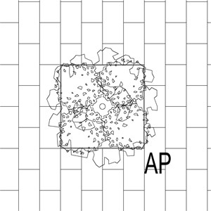 LOD 4 Plan representation of Internal artificial planting systems.