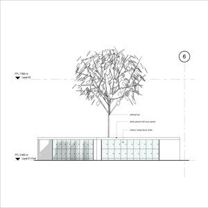 LOD 3 Elevation representation of Artificial trees.