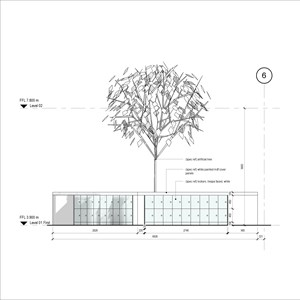 LOD 4 Elevation representation of Artificial trees.