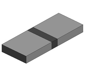 LOD 2 Model representation of Cantilever expansion comb or tooth joints.