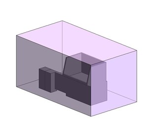 LOD 3 Model representation of Waste compactor systems.