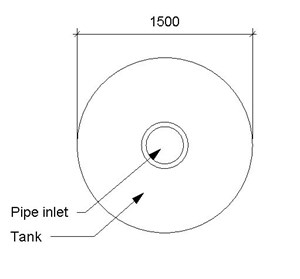 LOD 3 Plan representation of Plastics tanks.