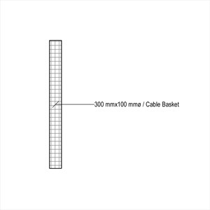 LOD 4 Plan representation of Cable baskets.