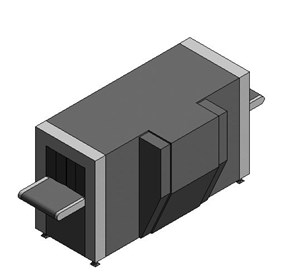 LOD 5 Model representation of Advanced cabin baggage x-ray scanners.