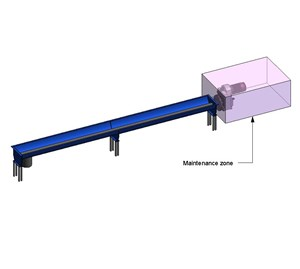 LOD 5 Model representation of Screw conveyors.